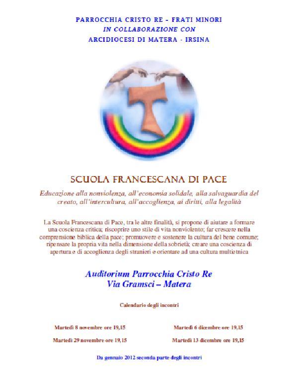 Scuola francescana di pace