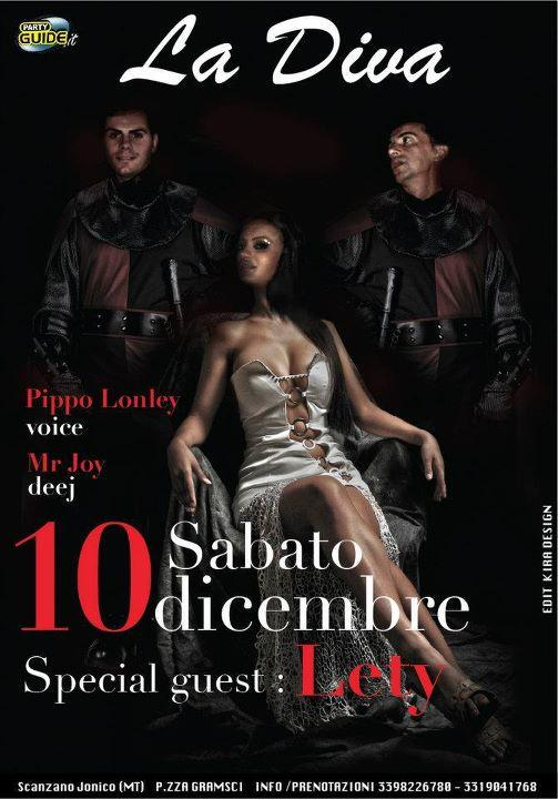 SPECIAL GUEST LETY VOICE - 10 dicembre 2011
