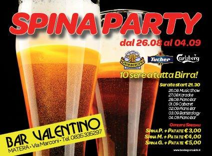 Spina party - 26 agosto 2011