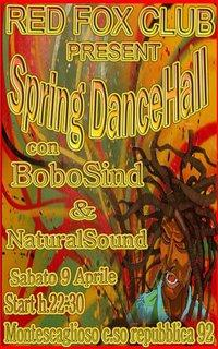 SPRING DANCEHALL - 9 aprile 2011