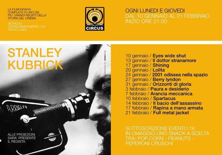 STANLEY KUBRICK - Circus