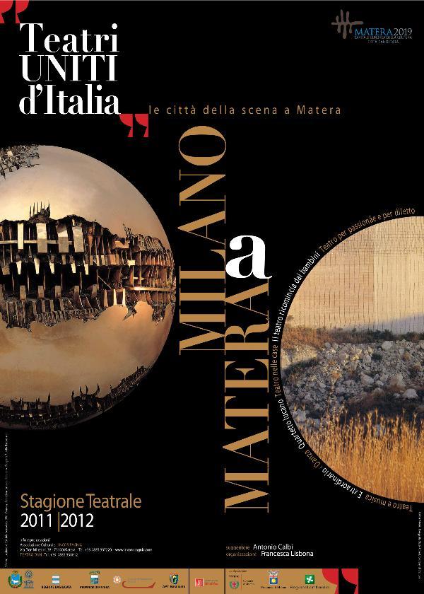 TEATRI UNITI D´ITALIA - Le città della scena a Matera