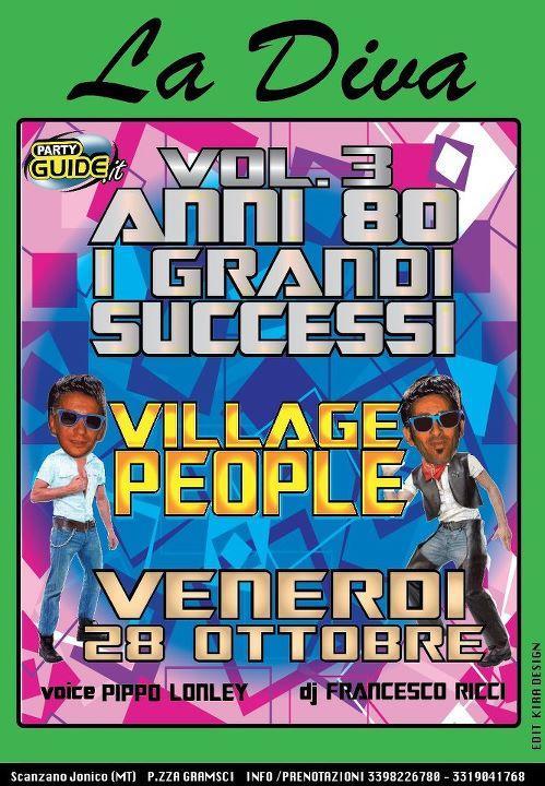 THE VILLAGE PEOPLE - 28 ottobre 2011