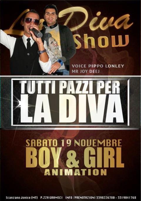 TUTTI PAZZI PER LA DIVA - 19 novembre 2011