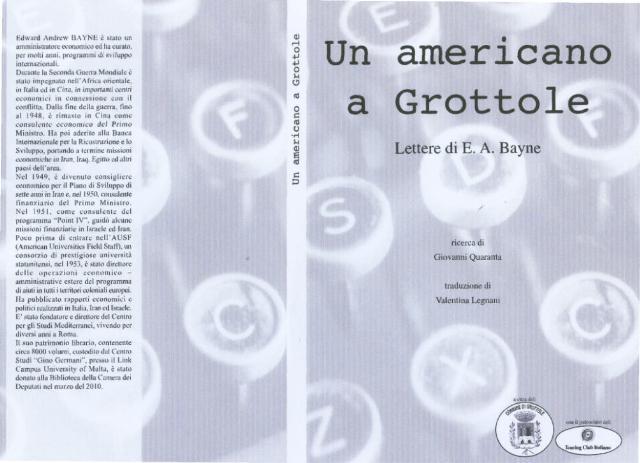 Un americano a Grottole