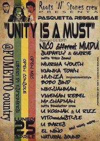 UNITY IS A MUST - 25 aprile 2011