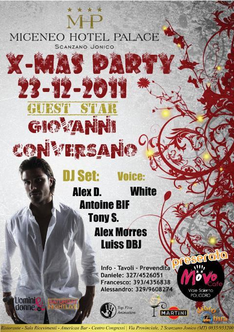 X-MAS PARTY - 23 dicembre 2011