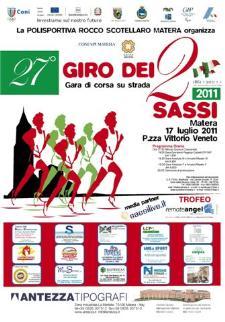 27° GIRO DEI DUE SASSI - 17 luglio 2011 - Matera