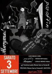 55° Anniversario Rione Serra Venerdì - 3 settembre 2011 - Matera