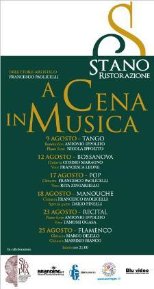A cena in musica 2011 - Matera