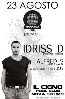 AMNESIA TOUR - IDRISS D - 23 agosto 2011 - Matera
