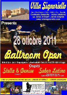 Ballroom Open - 28 ottobre 2011 - Matera