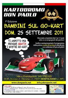 Bambini sul Go-Kart - 25 settembre 2011 - Matera
