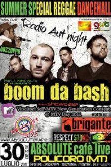 Boom Da Bash - Absolute Cafè - 30 luglio 2011 - Matera