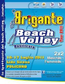 Brigante beach volley tour 2011, 2° tappa a Policoro - Matera