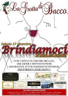 BRINDIAMOCI -  La grotta di bacco - 17 dicembre 2011 - Matera