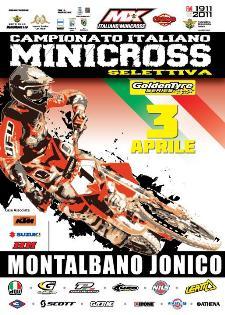 CAMPIONATO ITALIANO MINICROSS - 3 aprile 2011 - Matera