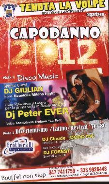 Capodanno 2012 a Tenuta La Volpe  - Matera