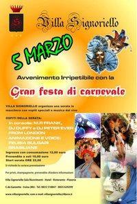 Carnevale - Villa Signoriello - Matera
