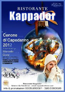 Cenone di Capodanno al Kappador  - Matera