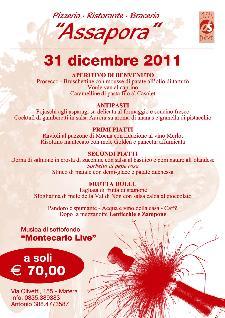 Cenone di San Silvestro ad Assapora  - Matera