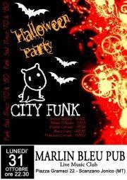 CITY FUNK live - 31 ottobre 2011 - Matera