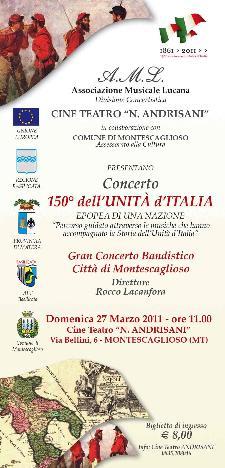 Concerto 150° dell'Unità d'Italia - Matera