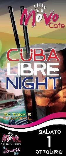 Cuba Libre Night - 1 ottobre 2011 - Matera