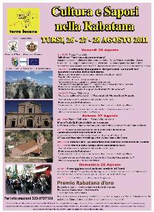 Cultura e Sapori nella Rabatana - dal 26 al 28 agosto 2011