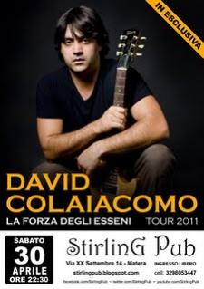 David Colaiacomo - live - 30 aprile 2011 - Matera