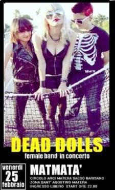 Dead Dolls - Matmatà - Matera
