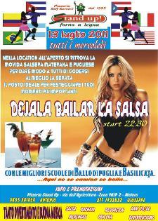 Dejala Bailar la Salsa - 13 luglio 2011 - Matera