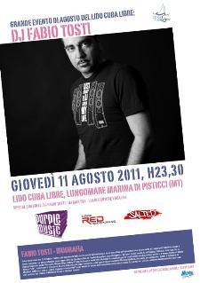 DJ Fabio Tosti - 11 agosto 2011 - Matera
