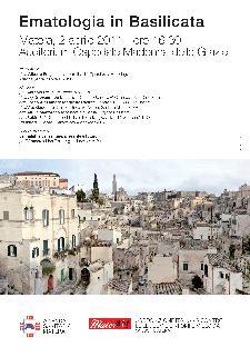 Ematologia In Basilicata - 2 aprile 2011 - Matera