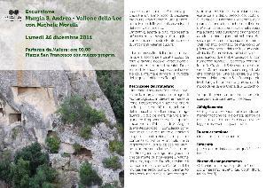 Escursione Murgia S.Andrea Vallone della Loe - 26 dicembre 2011 - Matera