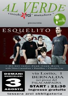 ESQUELITO live - 3 agosto 2011 - Matera