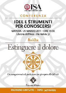 ESTINGUERE IL DOLORE - 25 marzo 2011 - Matera