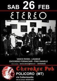 Etereo - Cherokee Pub - Matera