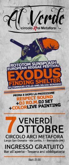 EXODUS REGGAE NIGHT - 7 ottobre 2011 - Matera