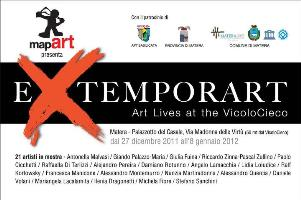 eXtemporArt Lives  - Matera