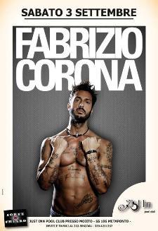 FABRIZIO CORONA - 3 settembre 2011 - Matera