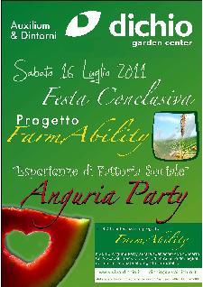 Farm Ability - Anguria party - Matera