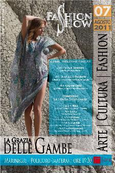 FASHION SHOW - LA GRAZIA DELLE GAMBE - Marinagri - 7 agosto 2011 - Matera
