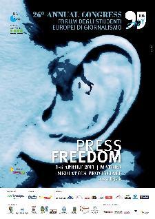 FEJS - FORUM FOR EUROPEAN JOURNALISM STUDENTS - dal 1 al 6 aprile 2011 - Matera