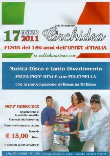 Festa dei 150 anni dell'Unità d'Italia - 17 marzo 2011 - Matera