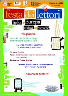 FESTA DEI LETTORI 2011  - Matera