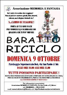 FESTA DEL BARATTO, DELL'USATO E DEL RICICLO - 9 ottobre 2011 - Matera