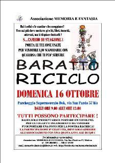 FESTA DEL BARATTO, DELL'USATO E DEL RICICLO - 16 ottobre 2011 - Matera