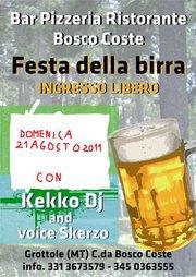 FESTA DELLA BIRRA - 21 agosto 2011 - Matera