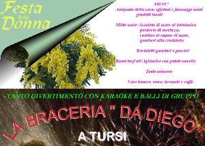 Festa della donna - Braceria da Diego - Matera